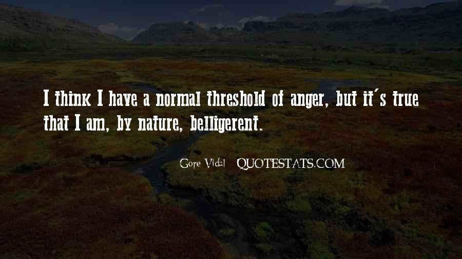 Quotes About Belligerent #1545700