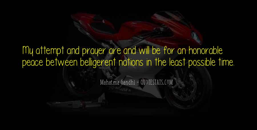 Quotes About Belligerent #628095