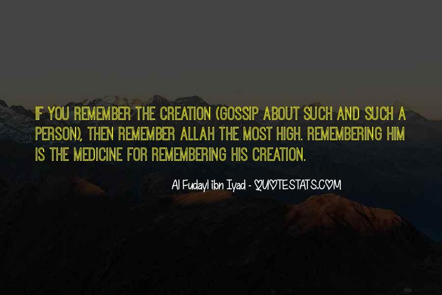 Quotes About The Creation Of Allah #1035648