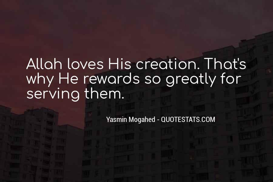 Quotes About The Creation Of Allah #1628889