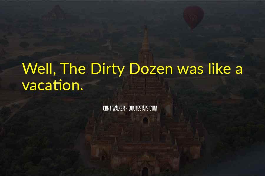 Quotes About Dozen #106470