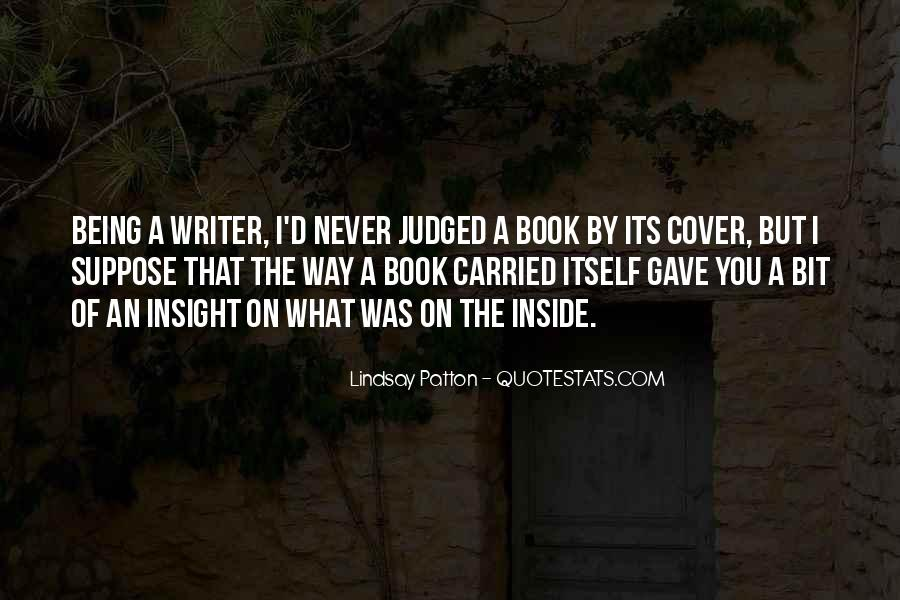 Quotes About Being Judged For Your Past #119147