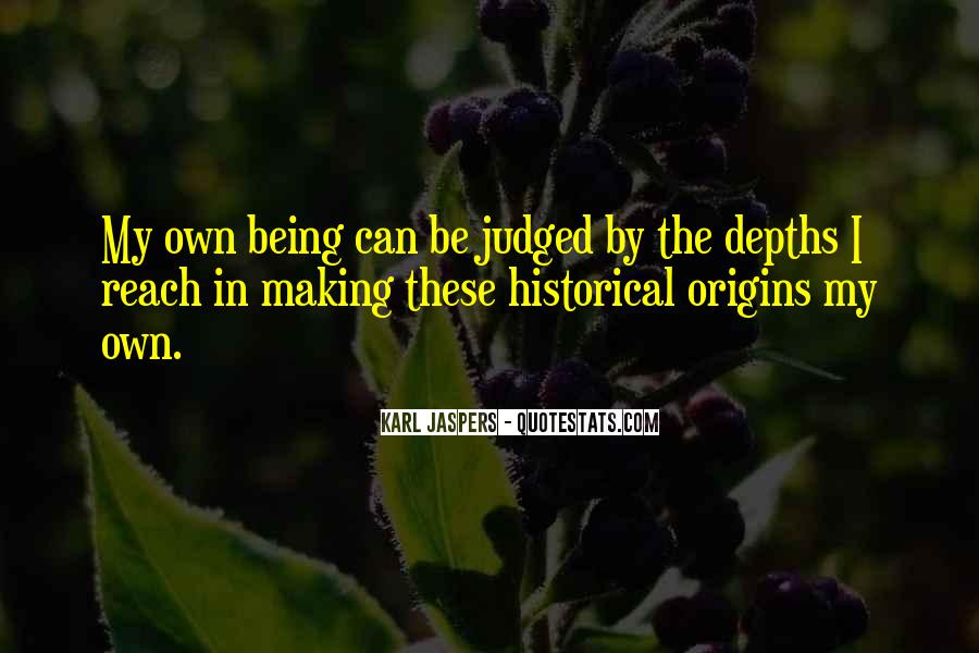 Quotes About Being Judged For Your Past #383176