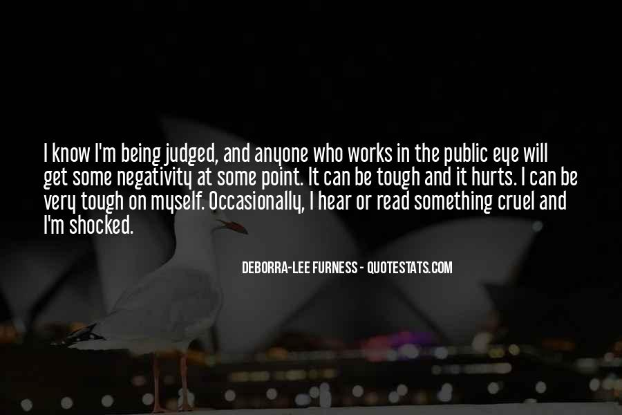 Quotes About Being Judged For Your Past #394447