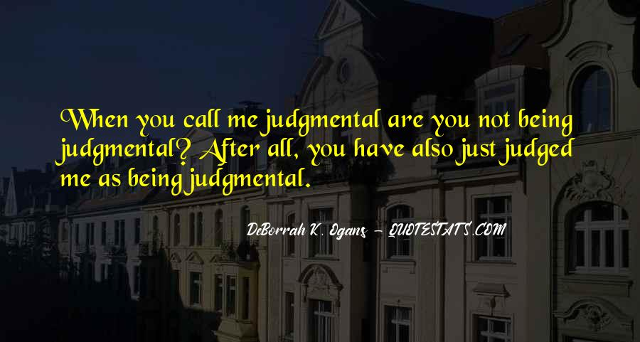 Quotes About Being Judged For Your Past #525772