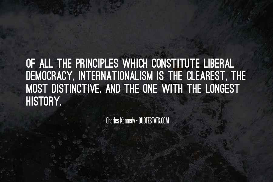 Quotes About Liberal Democracy #919392