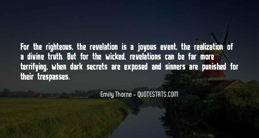 Quotes About Revelation #168854