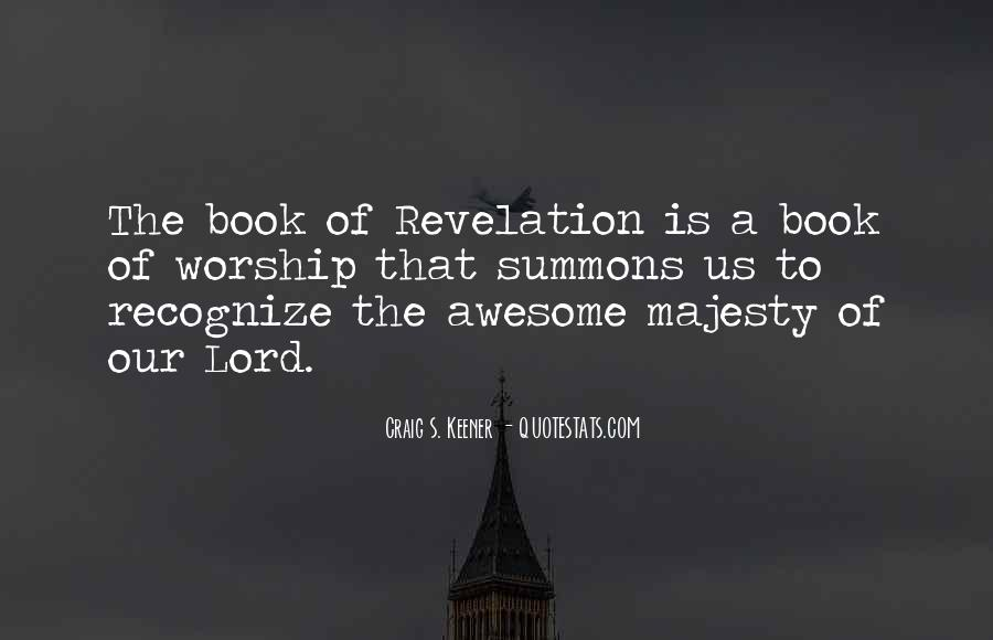 Quotes About Revelation #47460