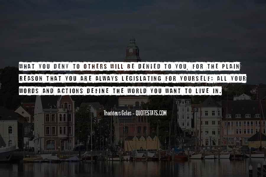 Quotes About Your Actions Define You #844696
