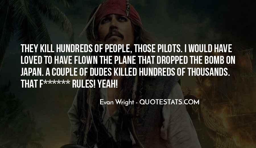 Quotes About Pilots #152994