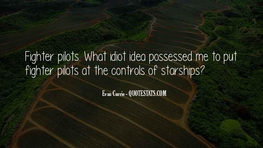 Quotes About Pilots #169782