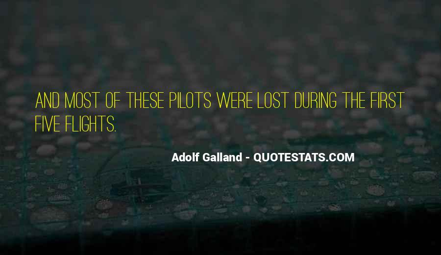 Quotes About Pilots #218449