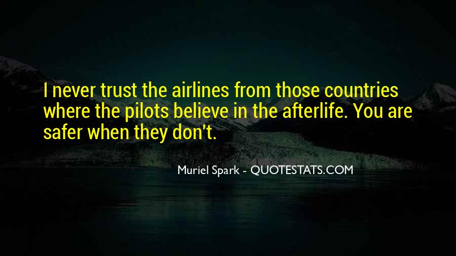 Quotes About Pilots #256603
