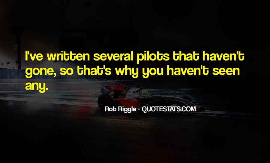 Quotes About Pilots #331215