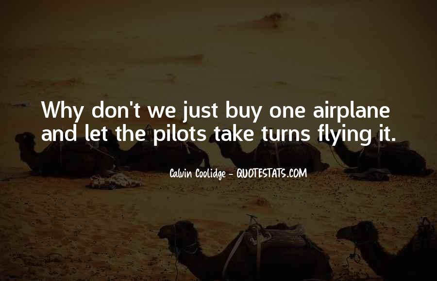 Quotes About Pilots #456438