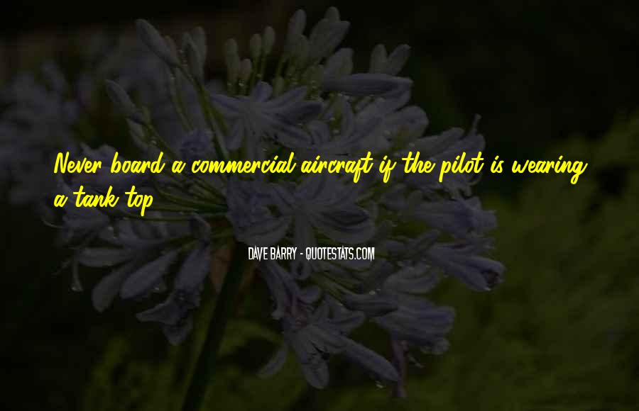 Quotes About Pilots #602773