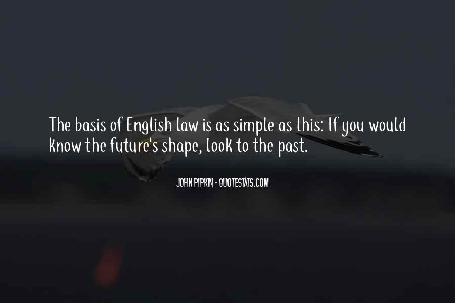 Quotes About The English Legal System #963374