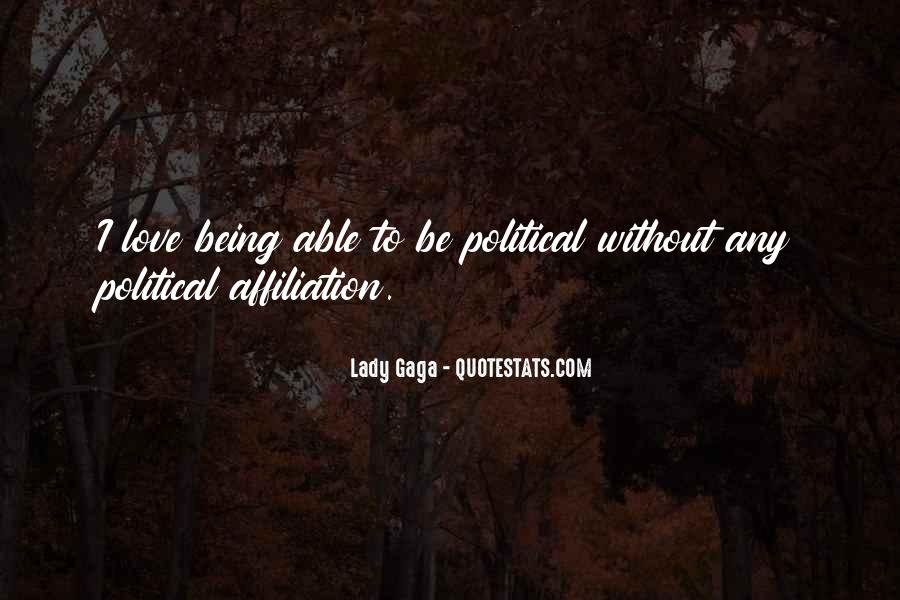 Quotes About Love Lady Gaga #1123263
