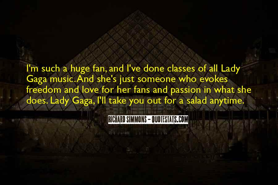 Quotes About Love Lady Gaga #1679146