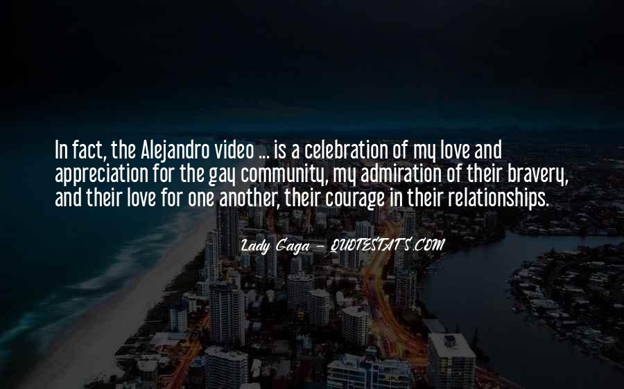 Quotes About Love Lady Gaga #434667