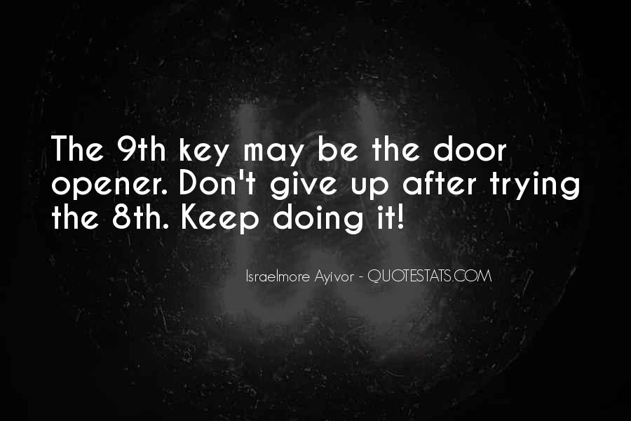 Quotes About Keep Trying #124844