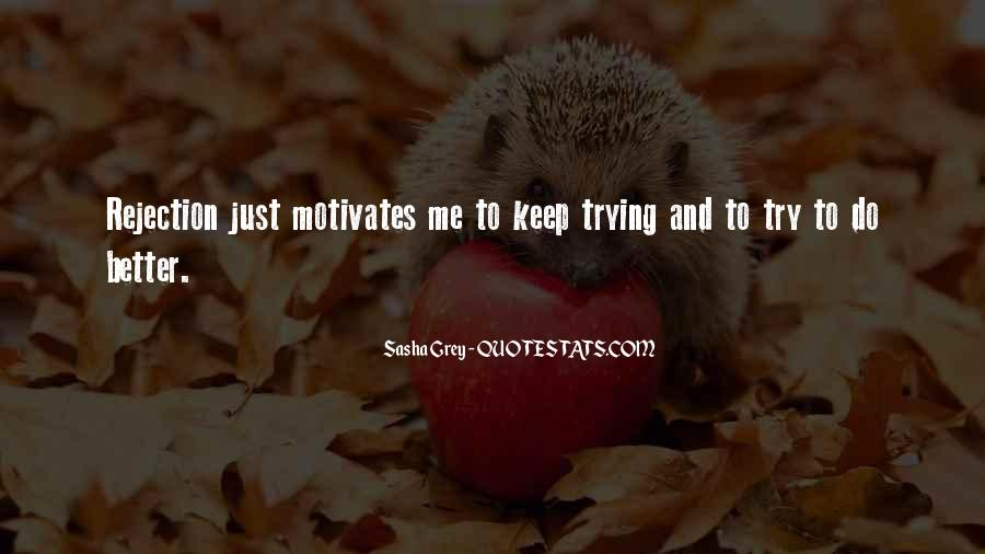 Quotes About Keep Trying #32180