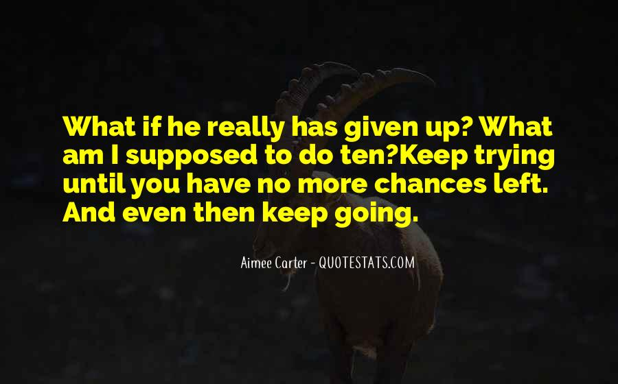 Quotes About Keep Trying #48679