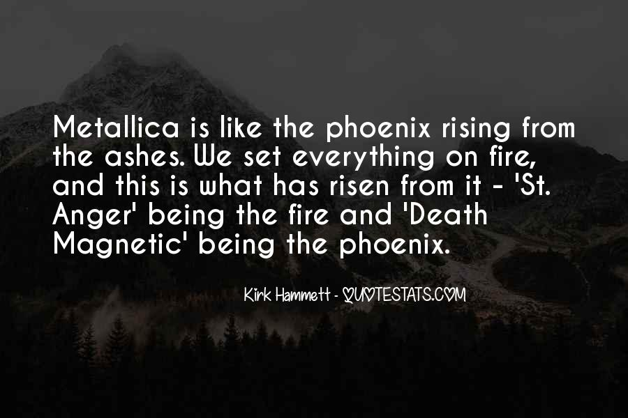 Quotes About Phoenix Ashes #1014452
