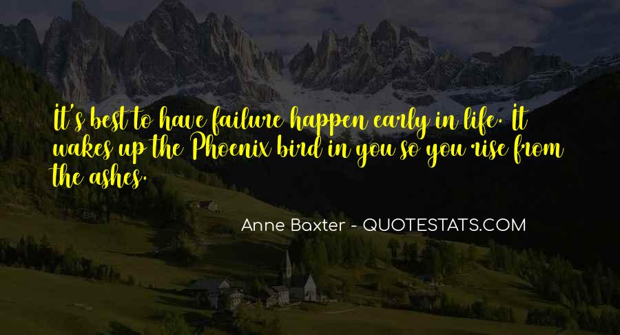 Quotes About Phoenix Ashes #1433737