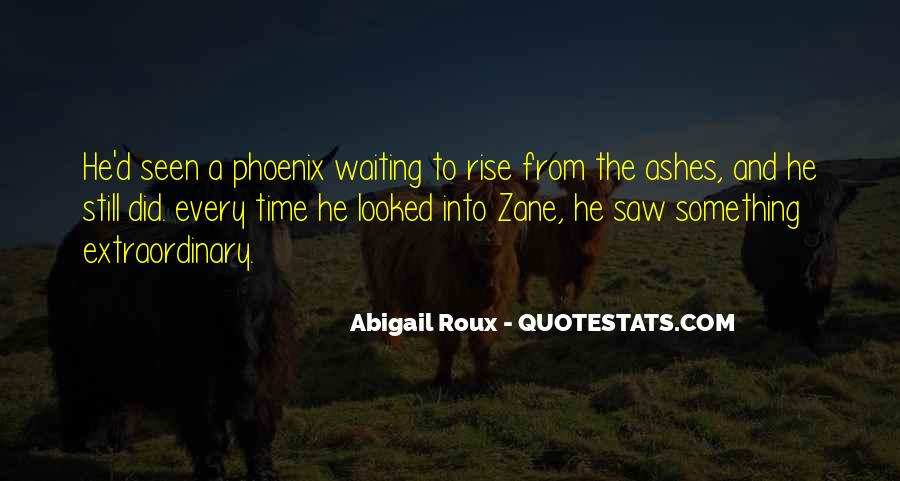 Quotes About Phoenix Ashes #468697