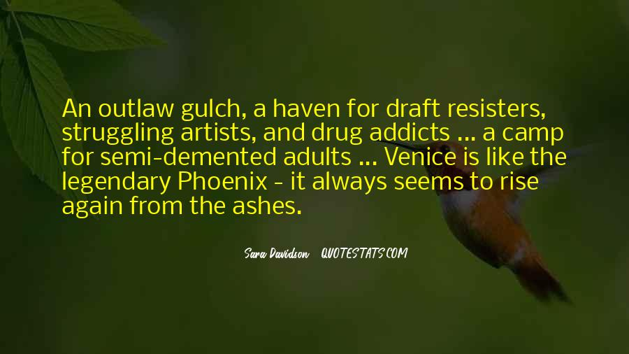 Quotes About Phoenix Ashes #533817