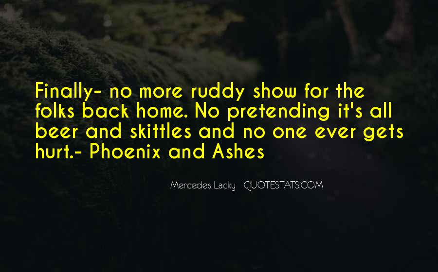 Quotes About Phoenix Ashes #802843