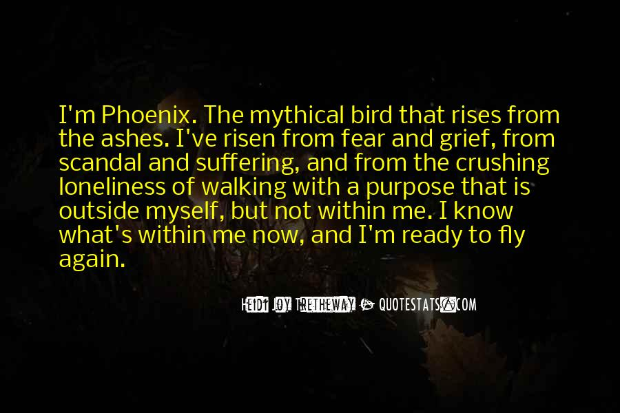 Quotes About Phoenix Ashes #945537
