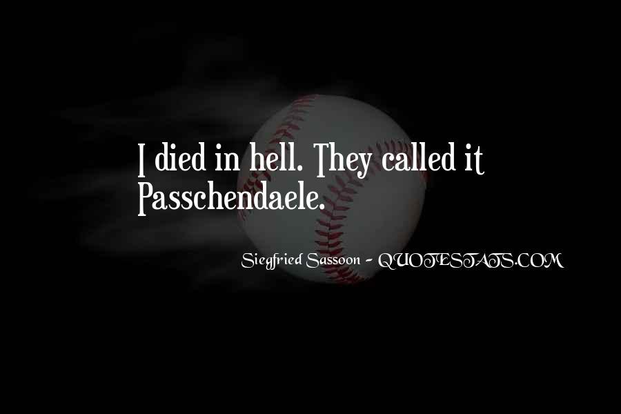 Quotes About Passchendaele #1620005