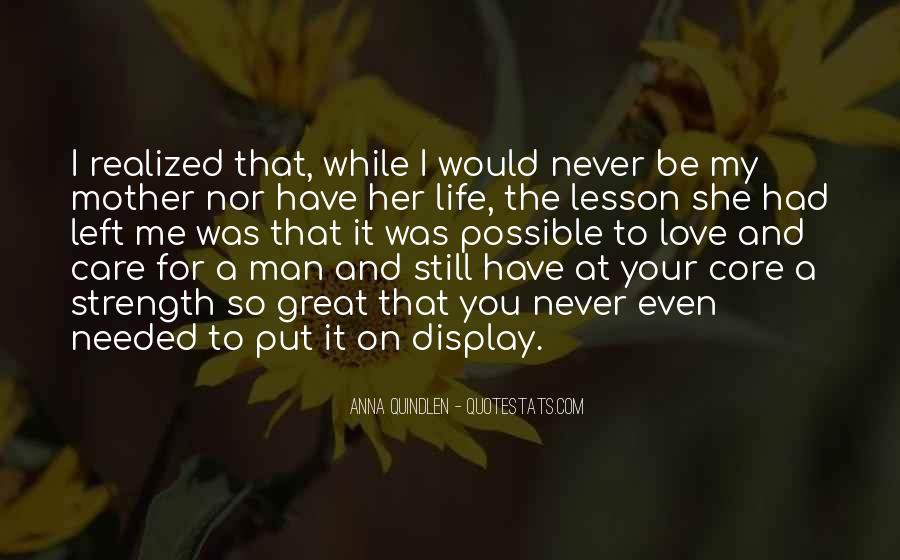 Quotes About Love To Your Mother #910713