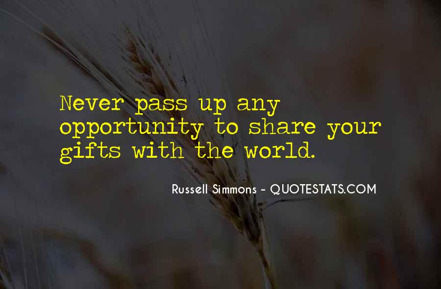 Quotes About Your Gifts #168800