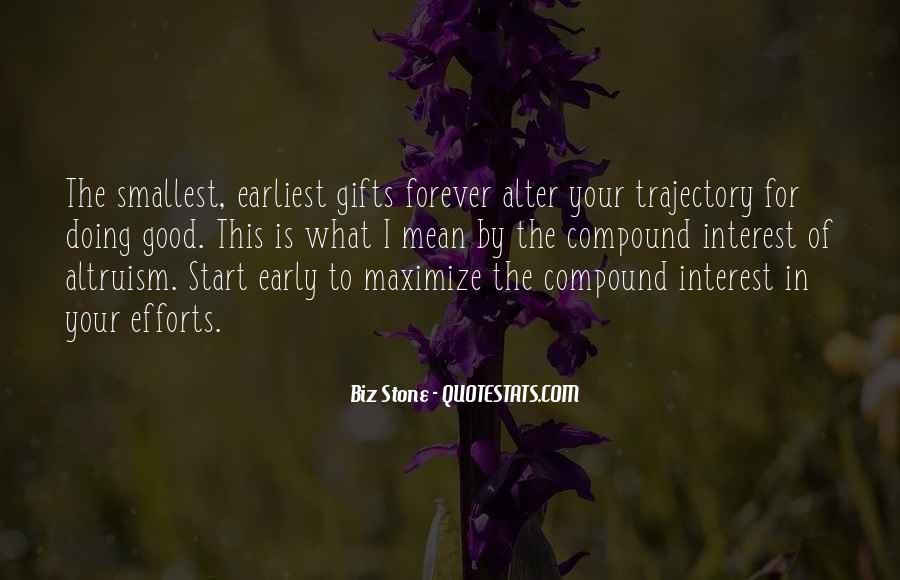Quotes About Your Gifts #225297