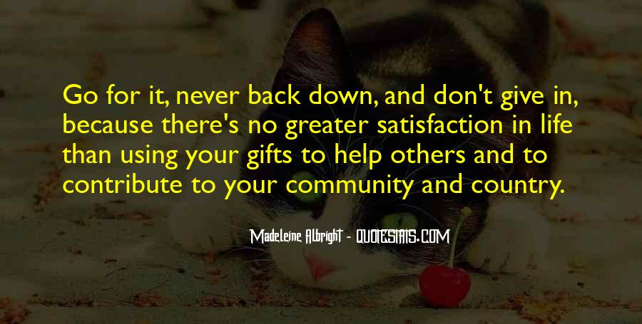 Quotes About Your Gifts #394338