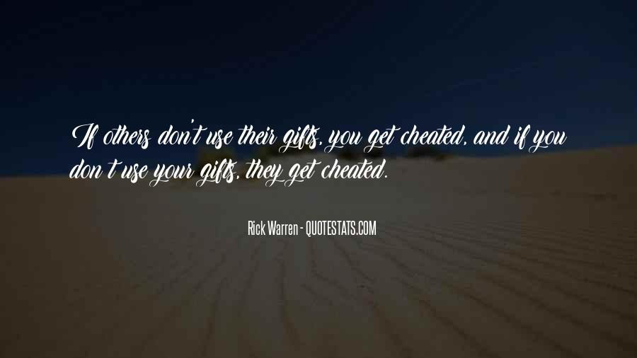 Quotes About Your Gifts #406343