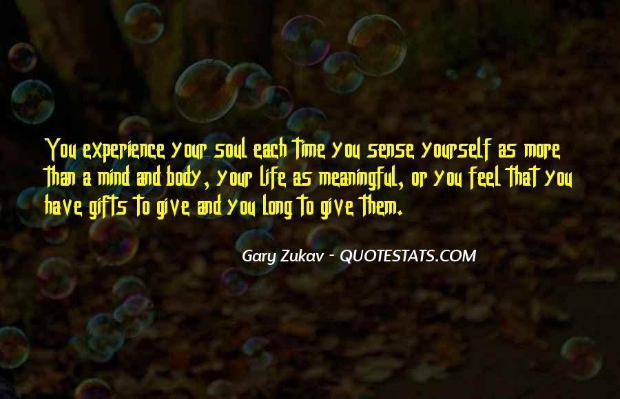 Quotes About Your Gifts #463822