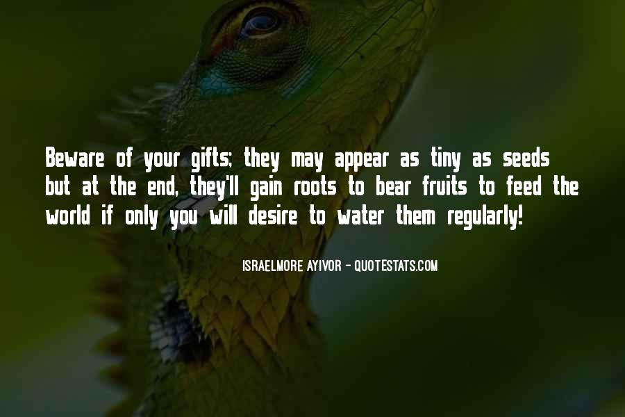 Quotes About Your Gifts #533415