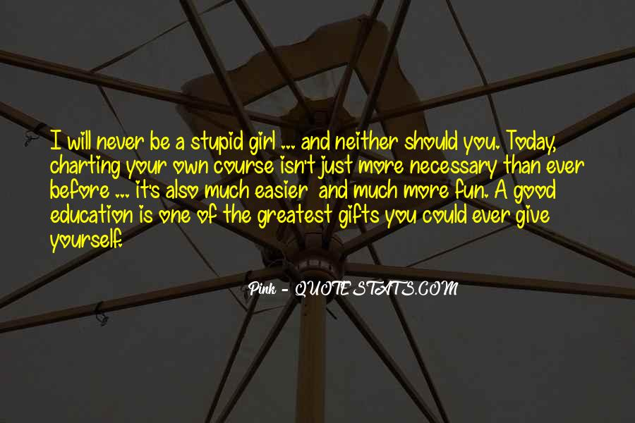 Quotes About Your Gifts #94634