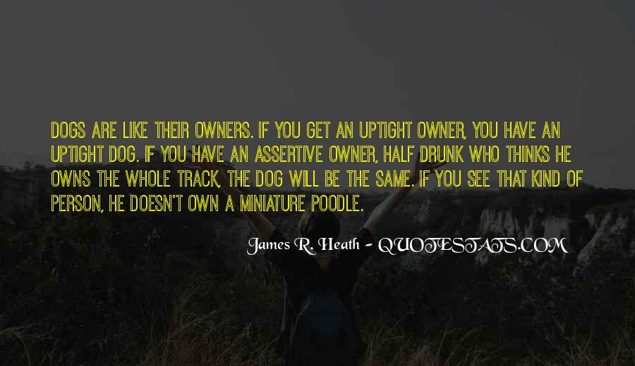 Quotes About Dogs And Their Owner #297077
