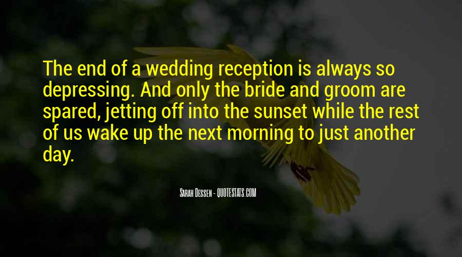 Quotes About The Wedding Day #108817
