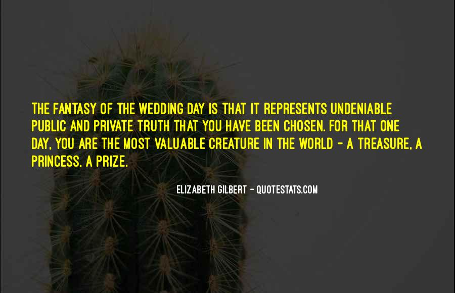 Quotes About The Wedding Day #1099449