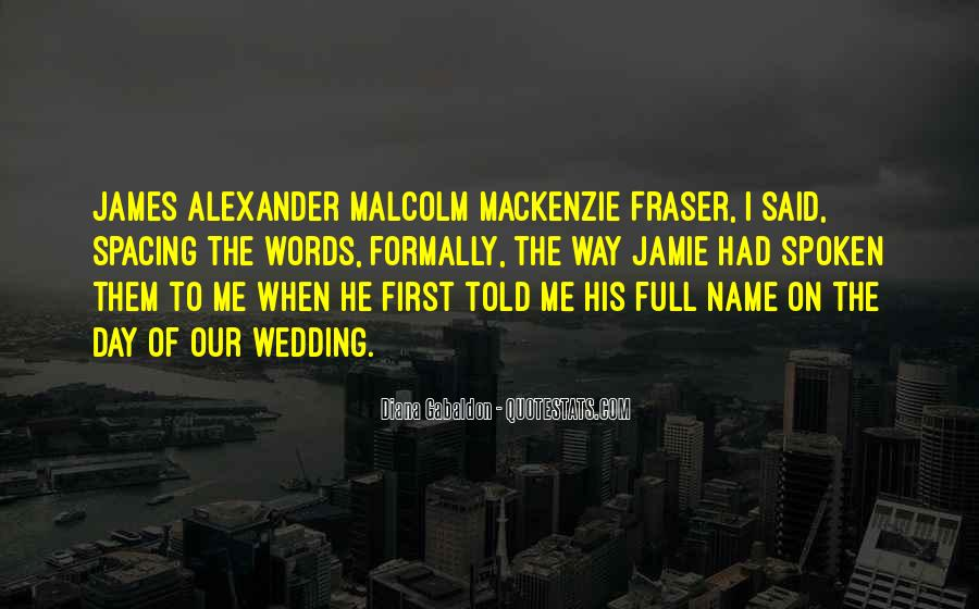 Quotes About The Wedding Day #1115085