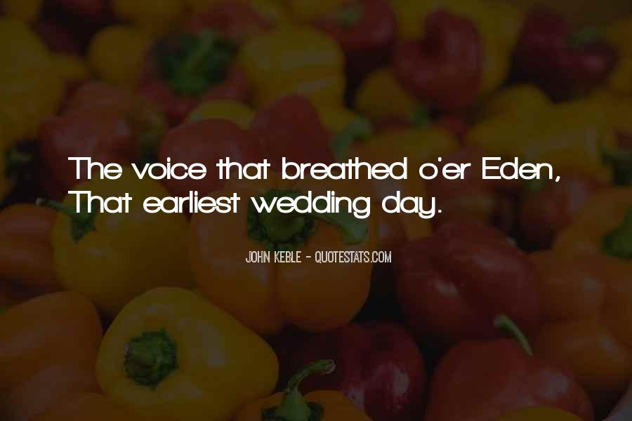 Quotes About The Wedding Day #1380532