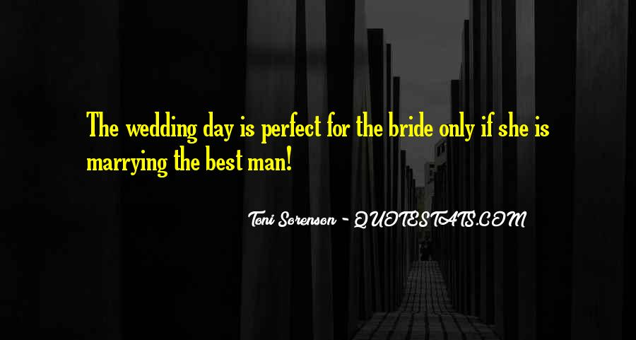 Quotes About The Wedding Day #1462757