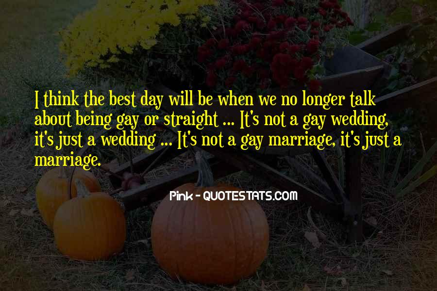 Quotes About The Wedding Day #634683