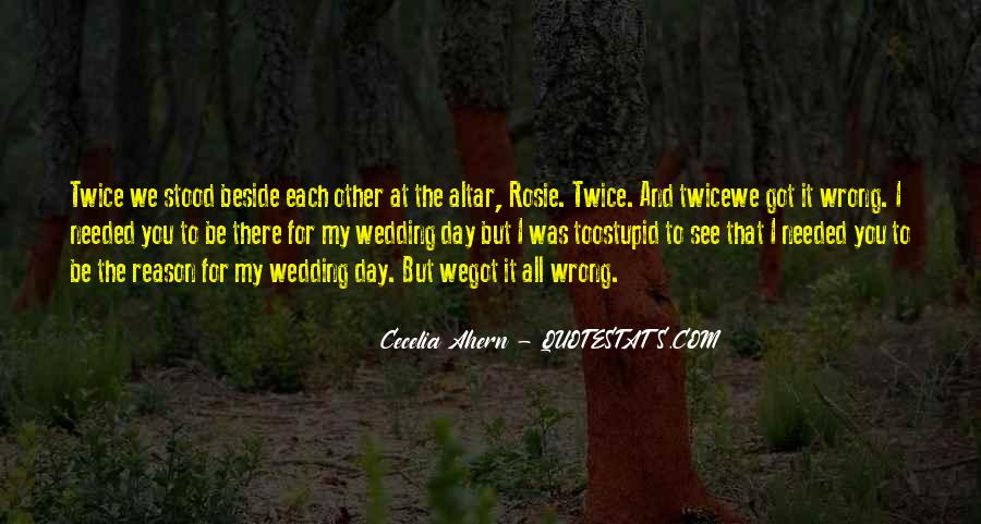 Quotes About The Wedding Day #844795